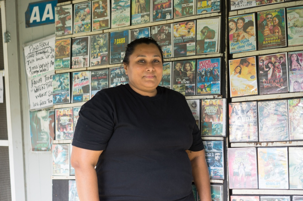 Anu runs a samosa-delivery service and a DVD shop in her village on Tongatapu.